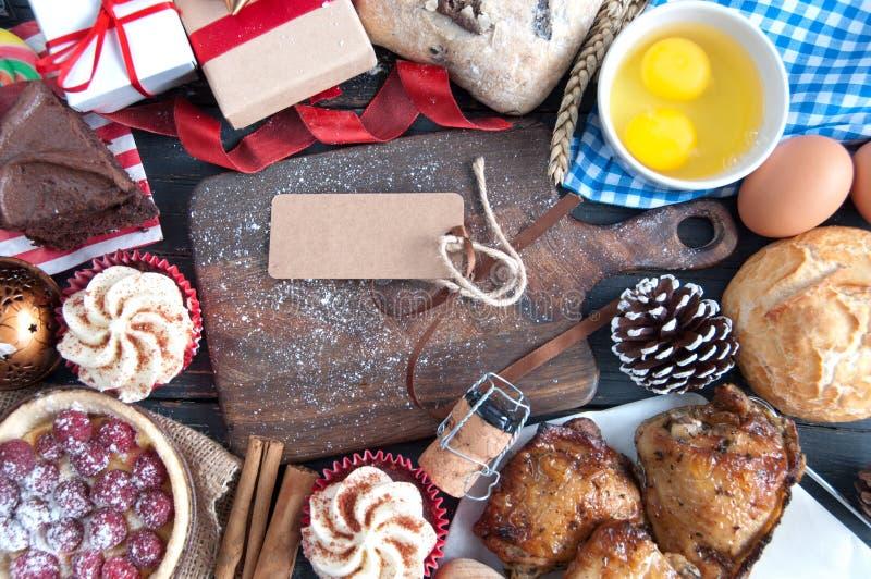 圣诞节膳食 库存图片