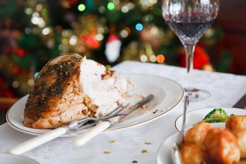 圣诞节膳食 免版税库存照片