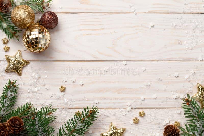 圣诞节节假日背景 免版税库存照片