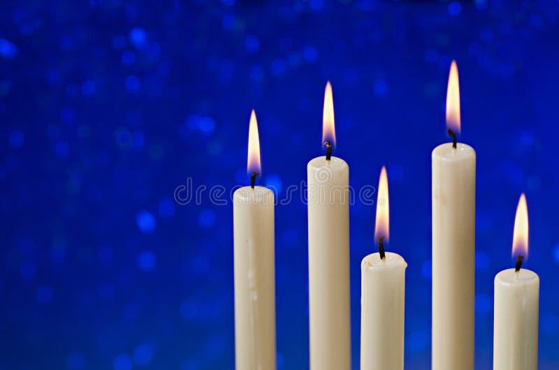 圣诞节蜡烛 库存图片