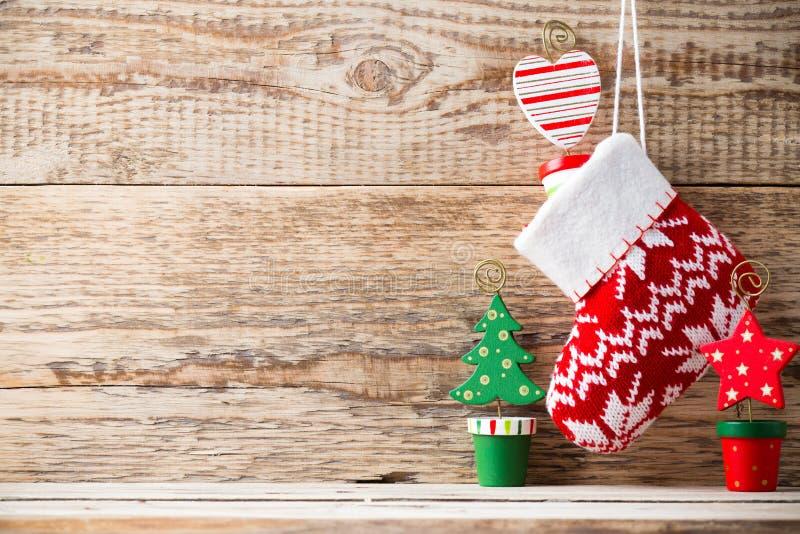 圣诞节装饰。 免版税库存照片