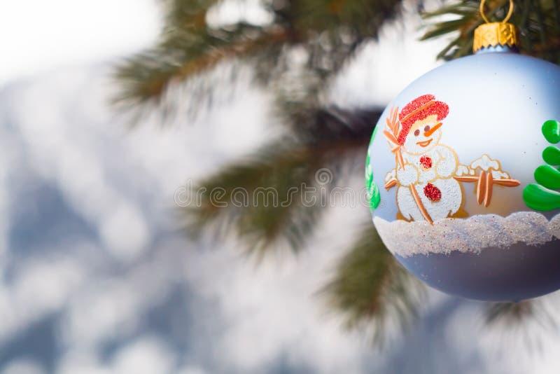圣诞节装饰一件 免版税库存图片