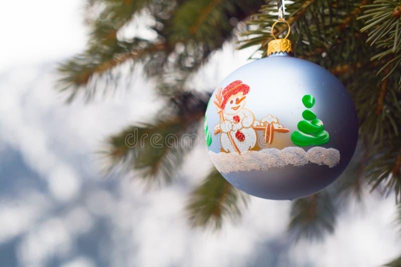 圣诞节装饰一件 库存图片