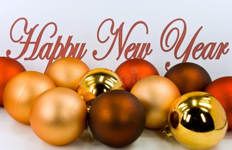 圣诞节装饰前夕新的s年 免版税库存照片