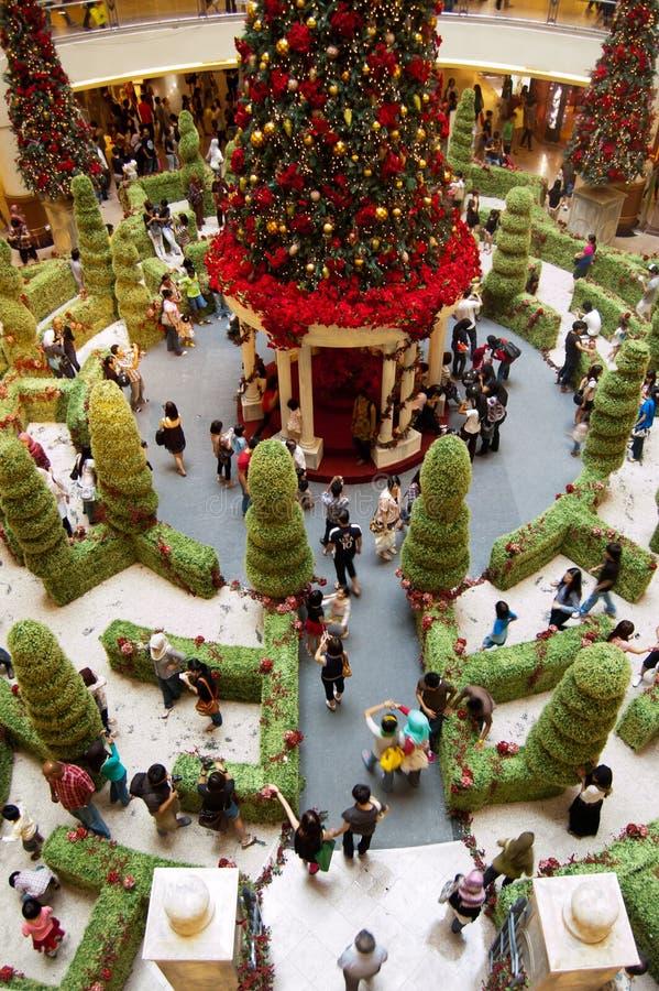 圣诞节装饰吉隆坡 免版税库存图片