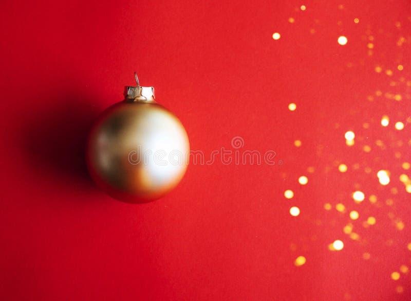 圣诞节装饰品背景 免版税库存图片