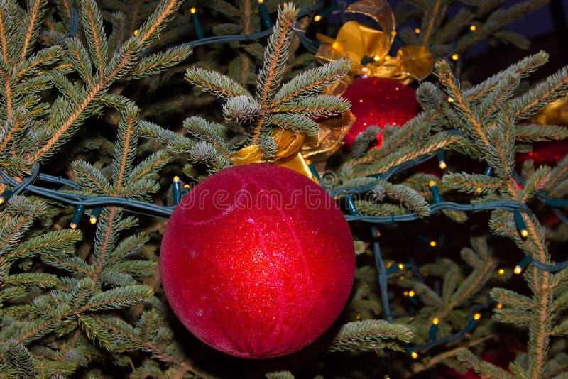 圣诞节装饰新年度 中看不中用的物品圣诞节停止的结构&# 免版税图库摄影