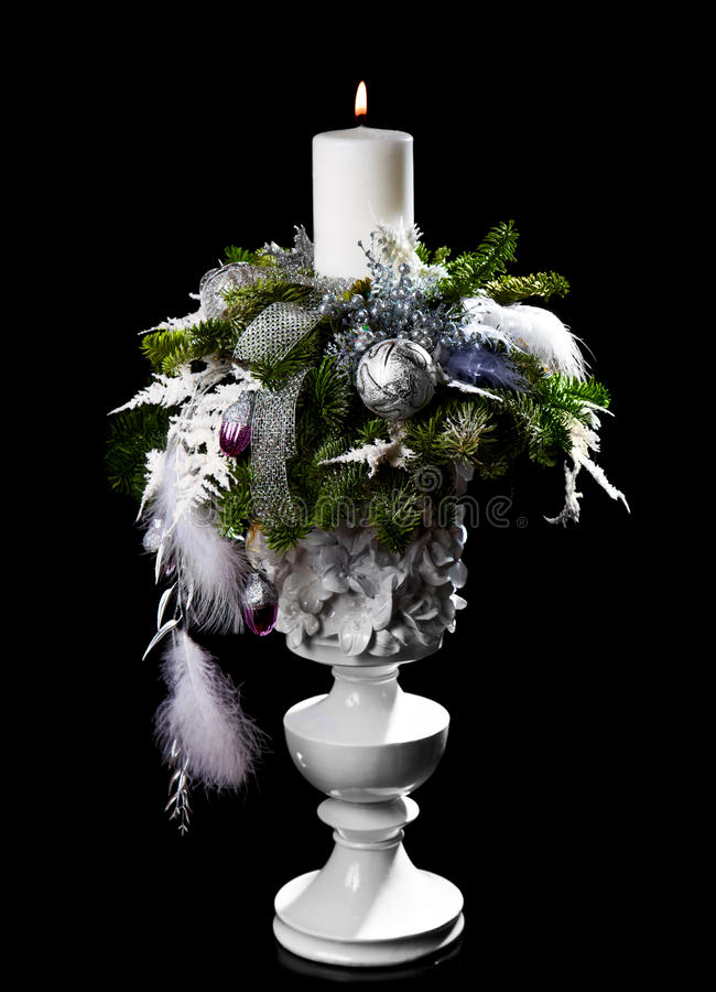 圣诞节装饰新的s年 免版税图库摄影