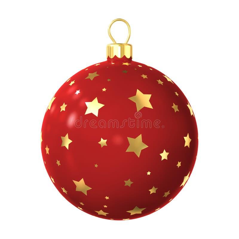 圣诞节装饰查出的结构树 皇族释放例证