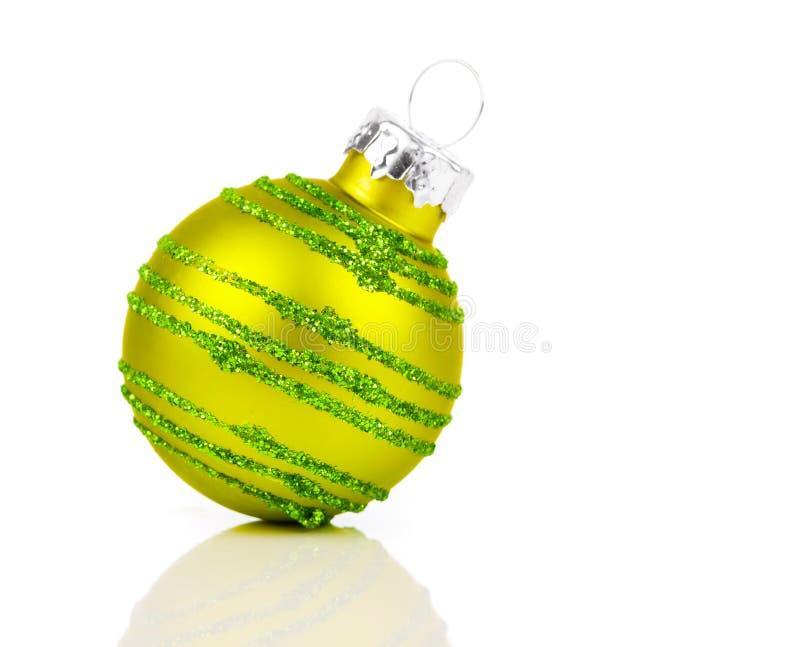 圣诞节装饰球 库存照片