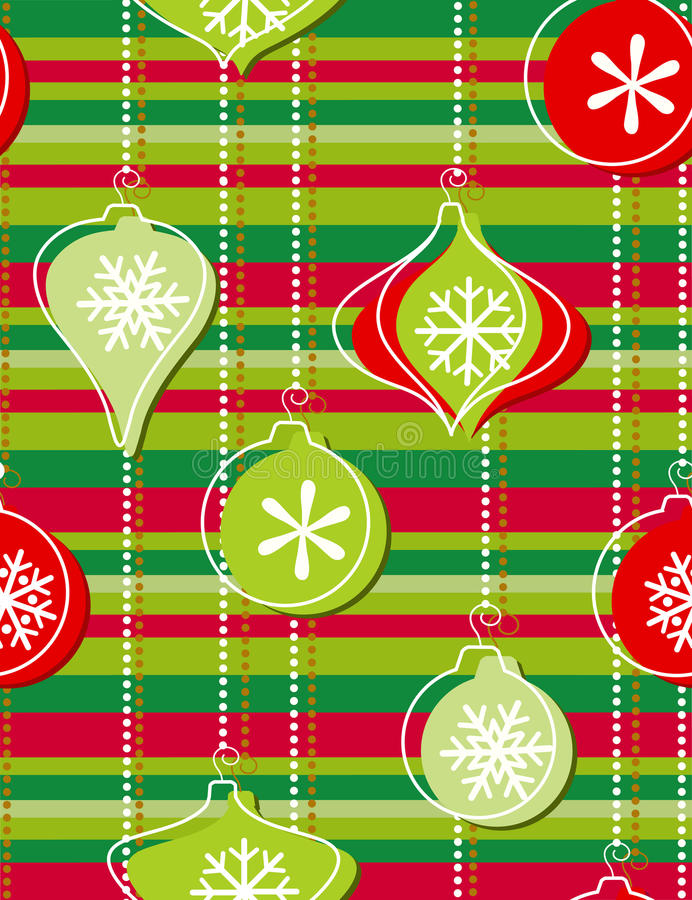 圣诞节装饰结构树 向量例证