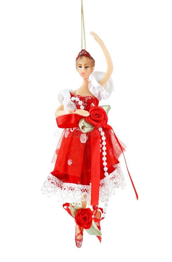 圣诞节装饰舞蹈家 图库摄影