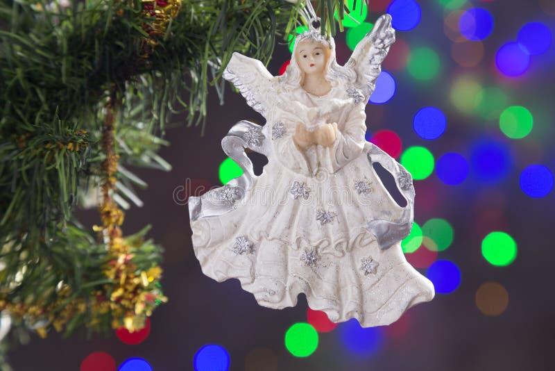 圣诞节装饰,天使 图库摄影