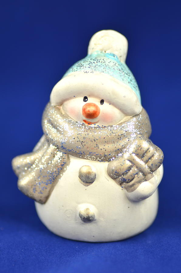 圣诞节装饰,雪人图  库存图片
