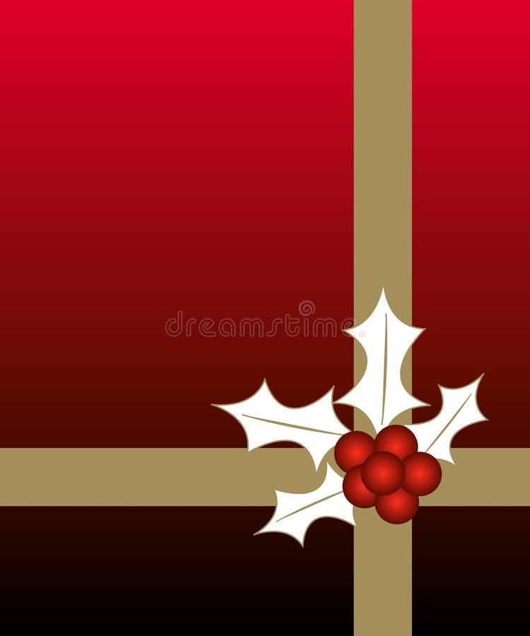 圣诞节设计 库存例证