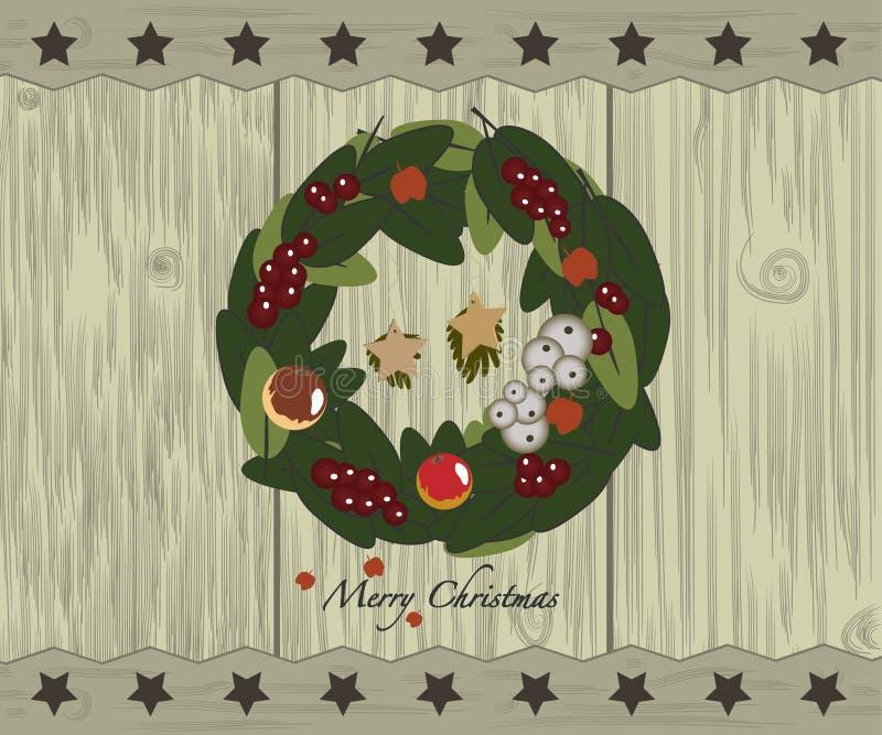 圣诞节诗歌选 向量例证