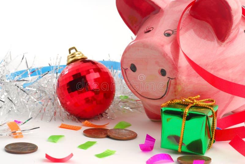 圣诞节购物 库存图片