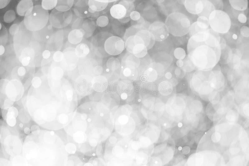 圣诞节迷离bokeh背景纹理摘要光glitterin 皇族释放例证