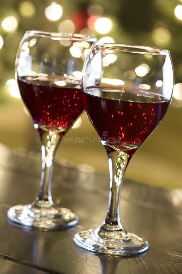 圣诞节酒 免版税库存照片