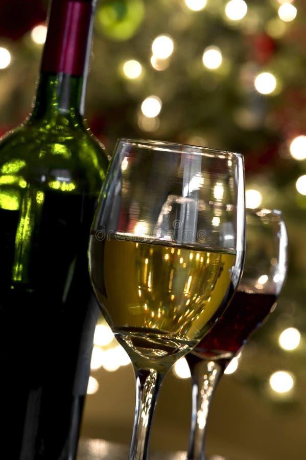 圣诞节酒 库存图片