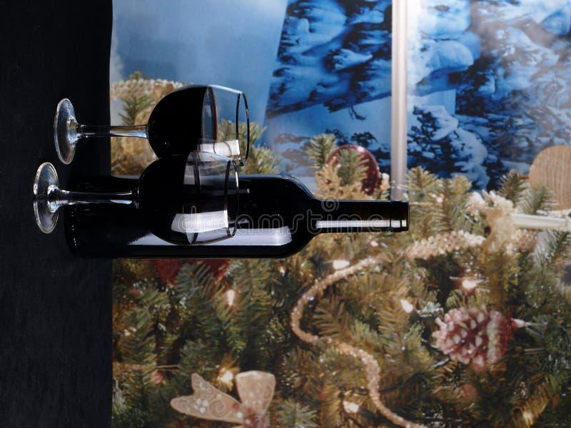 圣诞节酒 库存照片