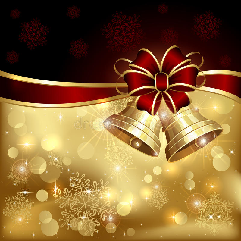 圣诞节铃声 库存例证