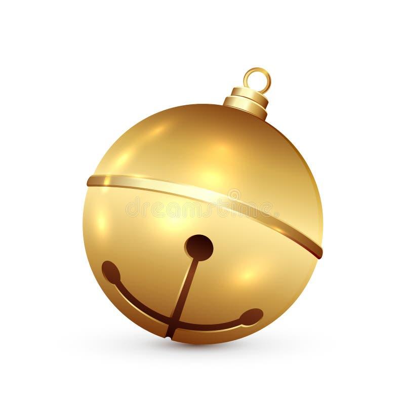圣诞节铃声 向量例证