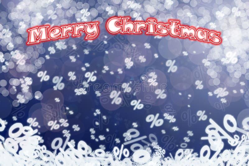 圣诞节销售背景 免版税库存照片