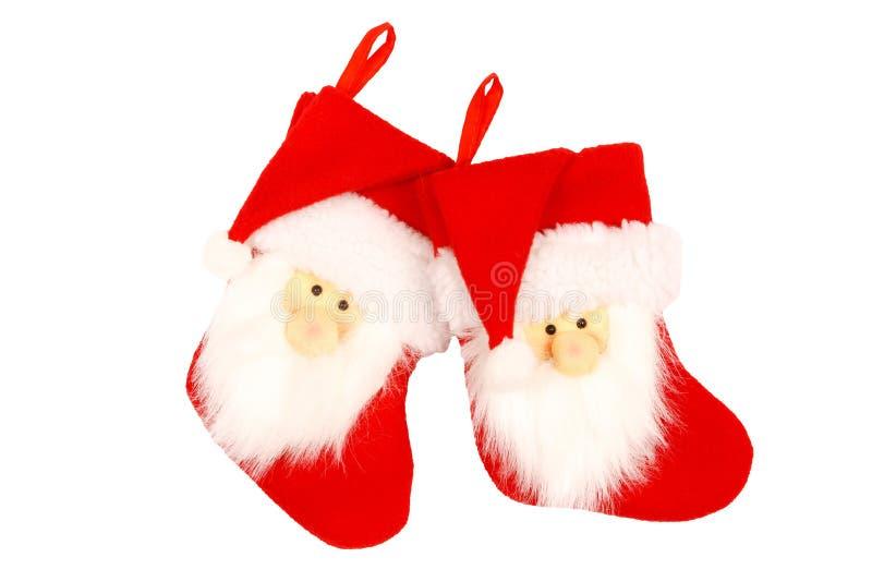 圣诞节长袜 免版税库存照片
