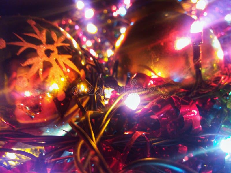 圣诞节闪闪发光 免版税库存照片