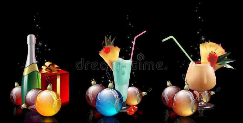 圣诞节集 向量例证
