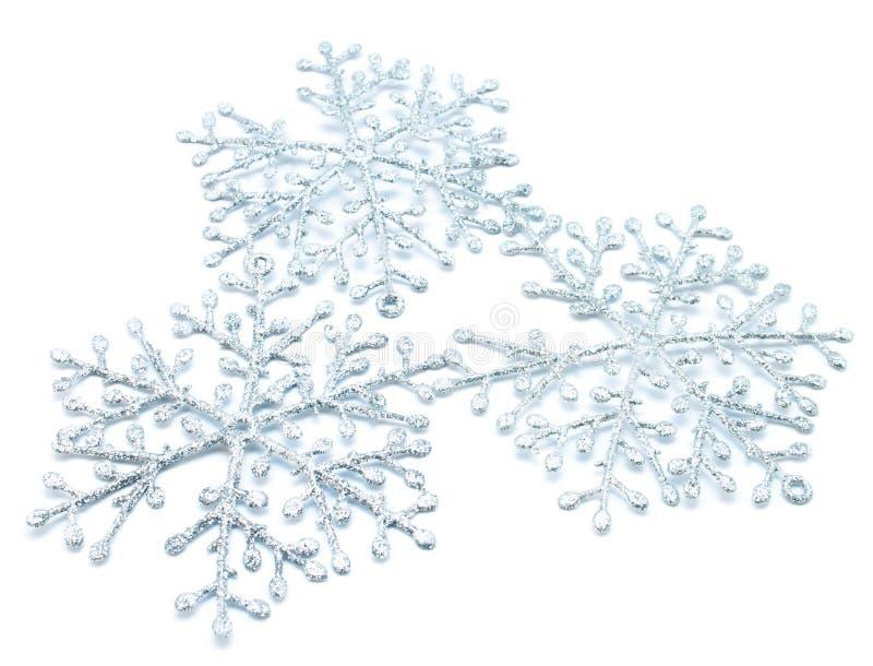 圣诞节雪花 免版税库存图片