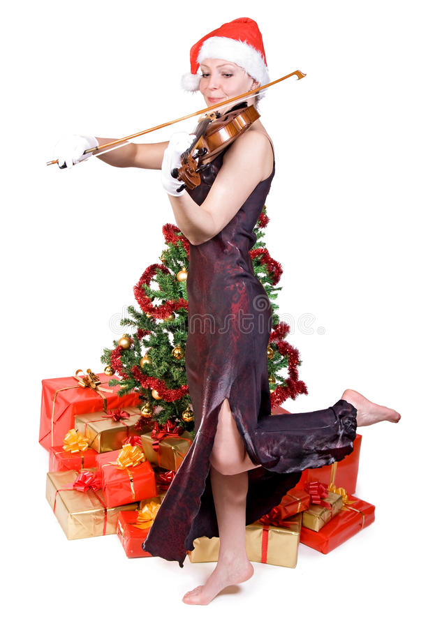 圣诞节音乐会 免版税图库摄影