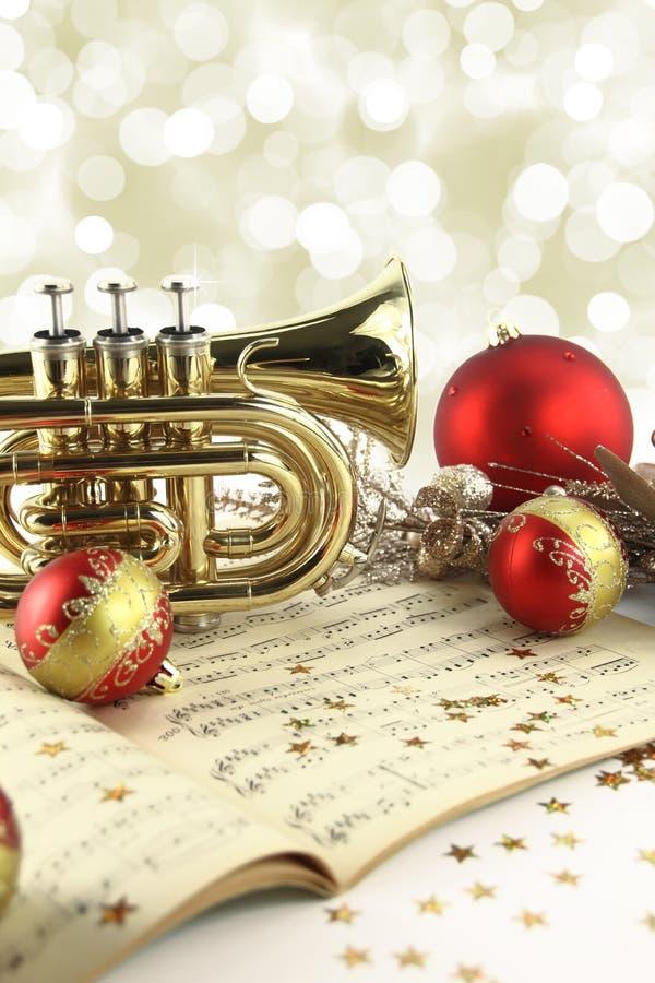 圣诞节音乐 免版税库存照片