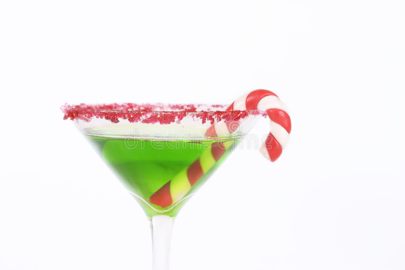 圣诞节饮料 库存照片