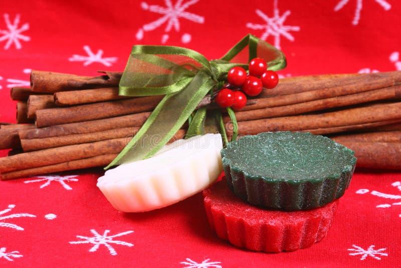 圣诞节馅饼 免版税库存图片