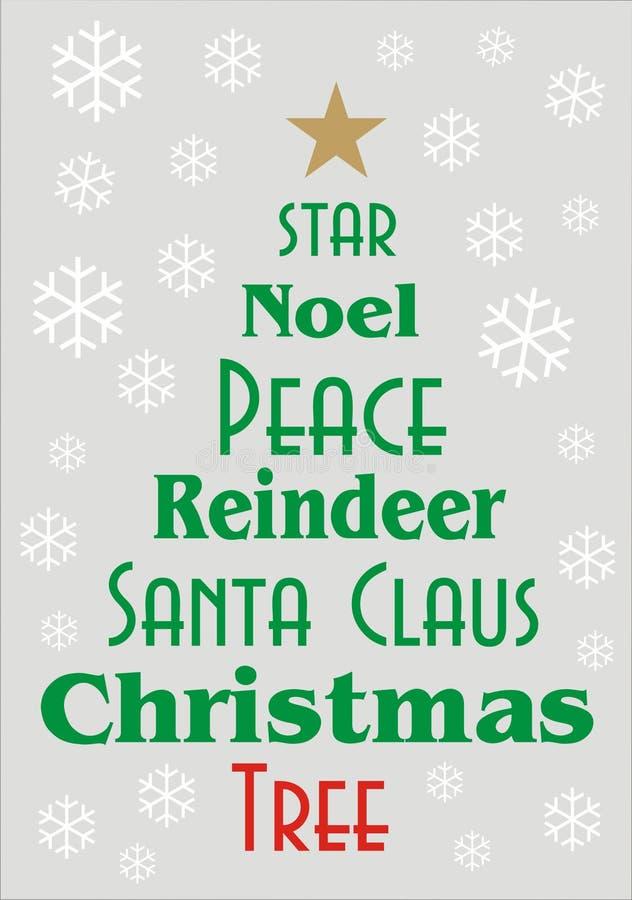 圣诞节贺卡或横幅 图库摄影
