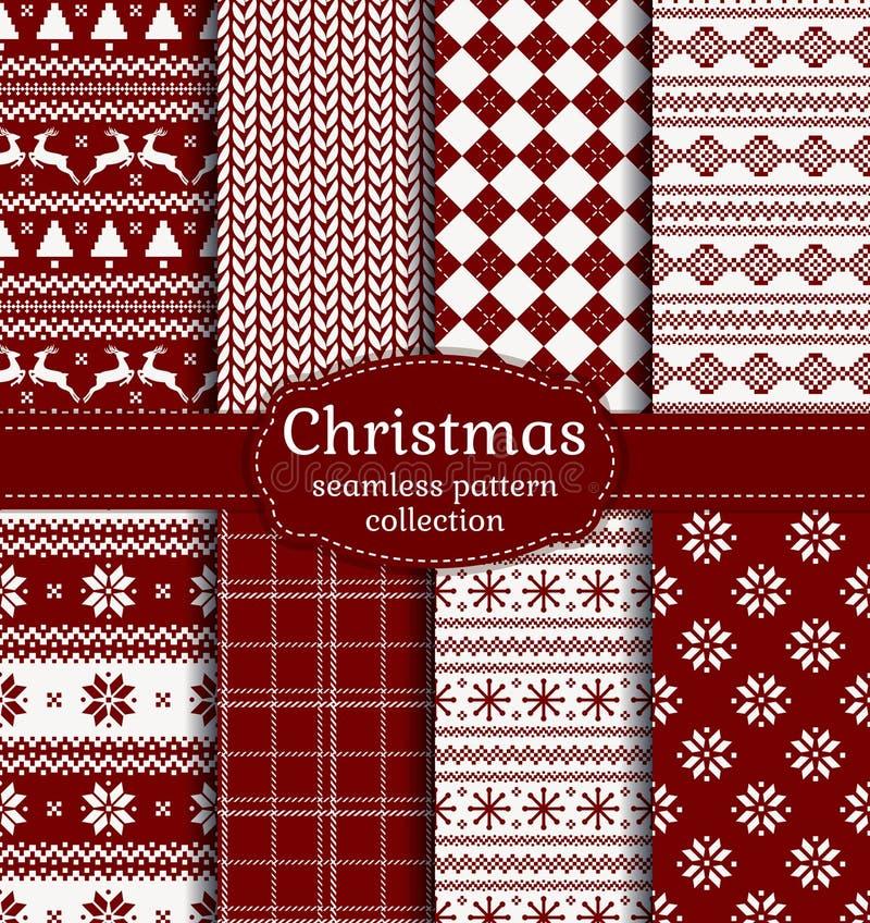 Download 圣诞节仿造无缝 动画片重点极性集向量 向量例证. 插画 包括有 编织, 冷杉, 布料, 剥落, 方格, 例证 - 62535698