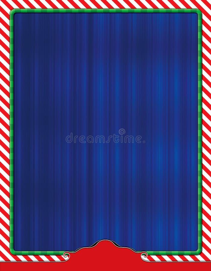 圣诞节主题的飞行物背景 免版税库存照片