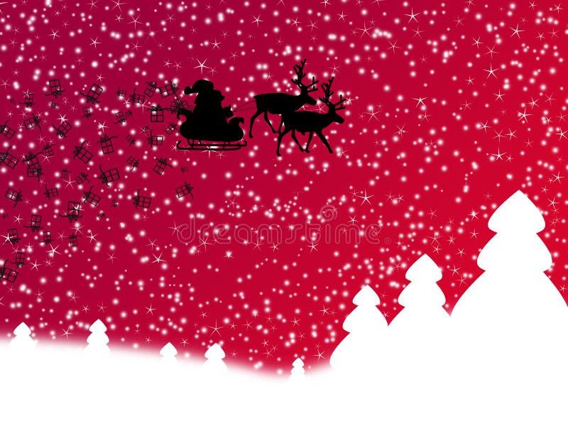 Download 圣诞节 库存例证. 插画 包括有 艺术, 红色, 对象, 驯鹿, 空白, 结构树, 冻结, 背包, 星形 - 22353030