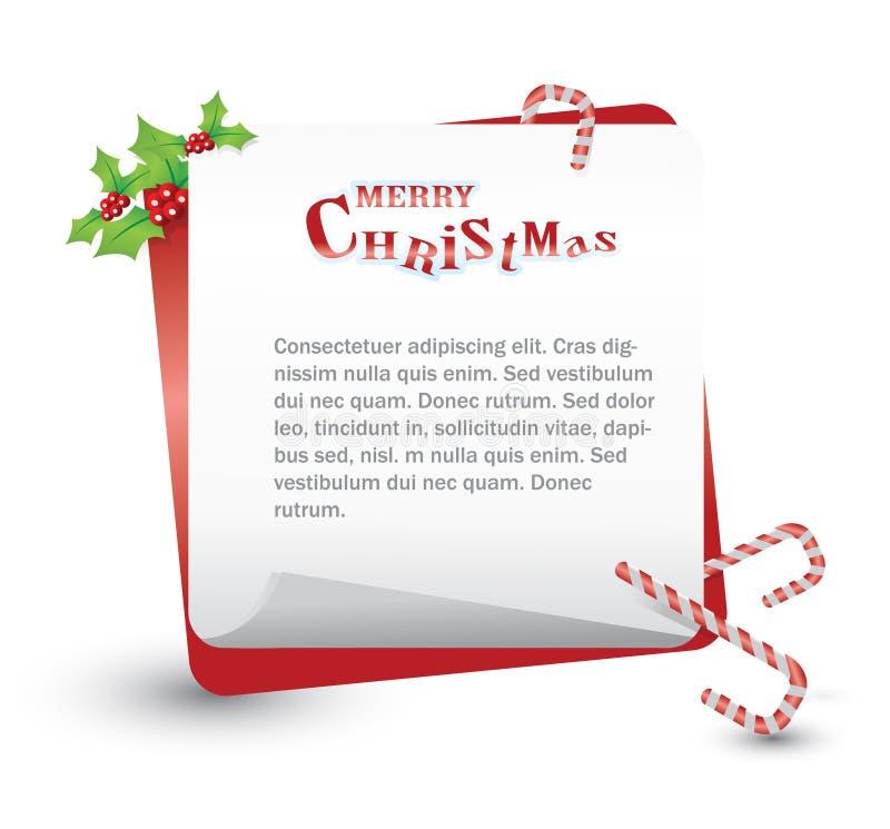 圣诞节 库存例证