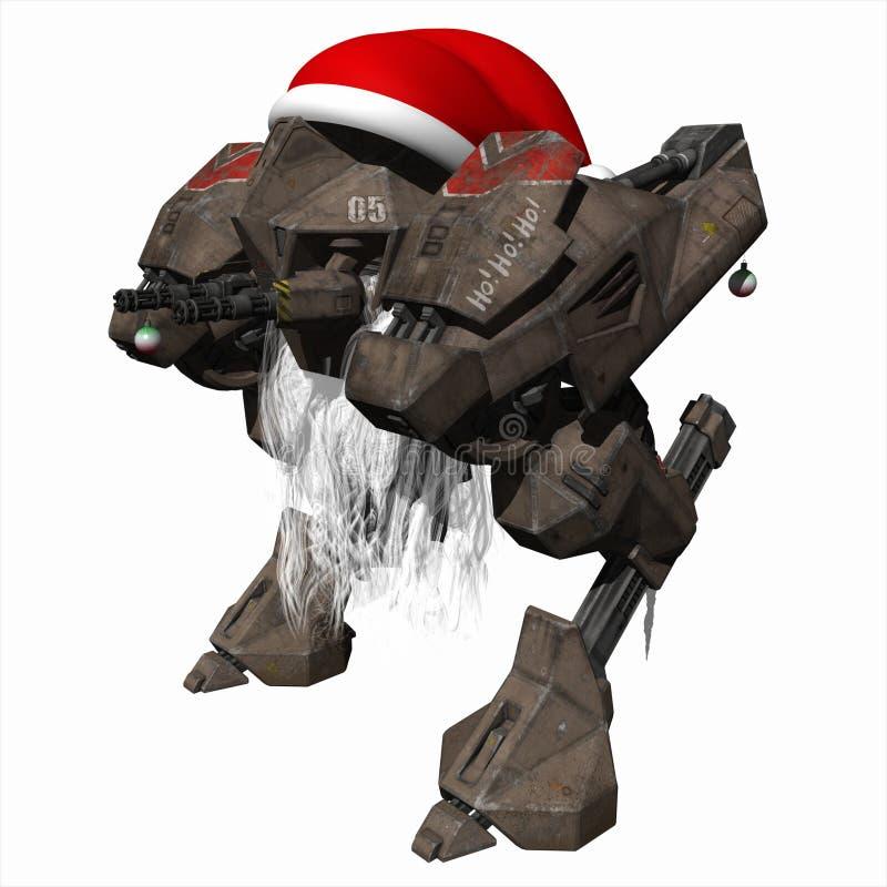 圣诞节droid 向量例证