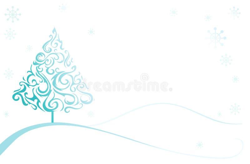 圣诞节illusttation 向量例证