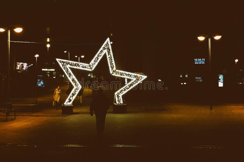 圣诞节Stargate 库存图片