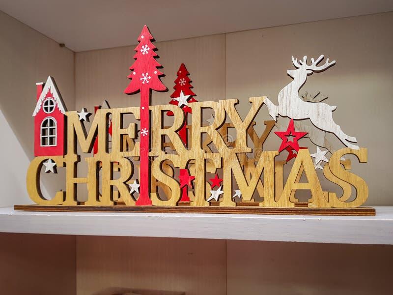 圣诞节xmas树对象装饰 库存照片