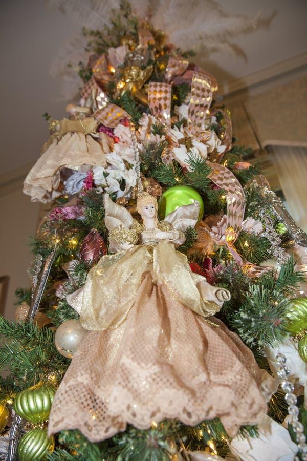 圣诞装饰天使 免版税图库摄影