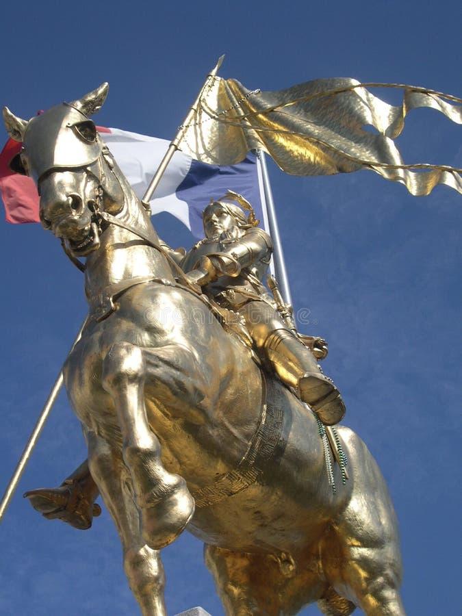 圣贞德纪念碑,新奥尔良,路易斯安那 免版税库存照片