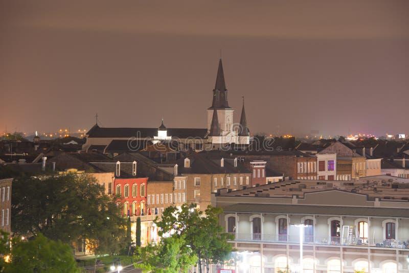 圣路易斯大教堂,新奥尔良,路易斯安那,美国 库存图片
