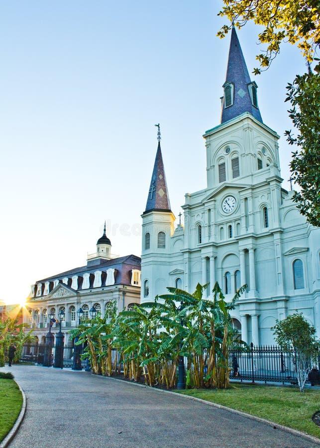 圣路易斯大教堂 免版税库存照片