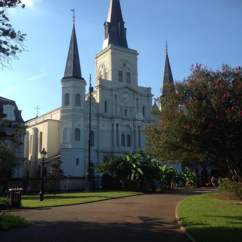 圣路易斯大教堂 免版税库存图片